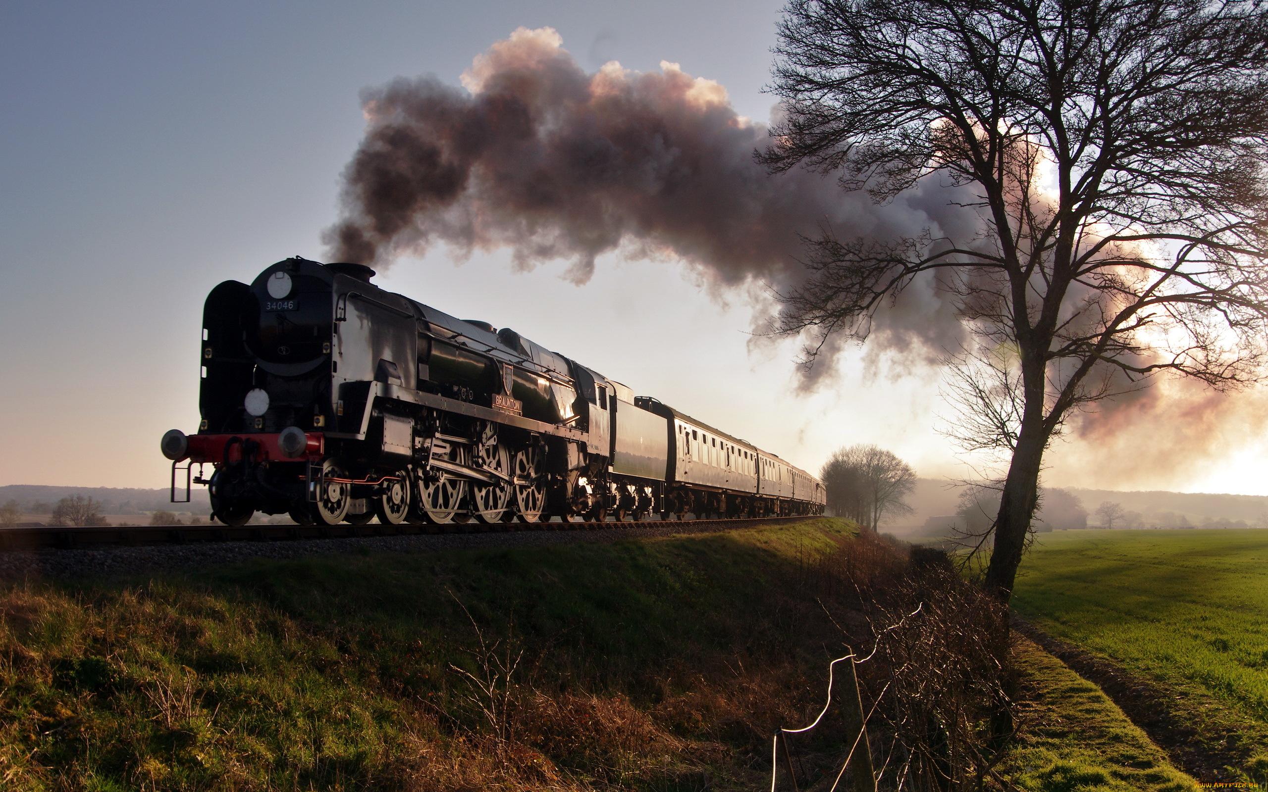 Крутые картинки с поездом