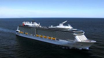 Картинка корабли лайнеры круизный многопалубный