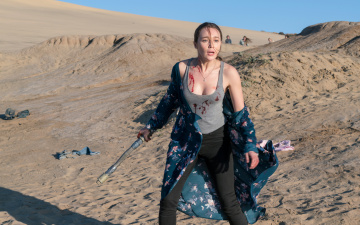 Картинка кино+фильмы fear+the+walking+dead alycia debnam carey alicia clark