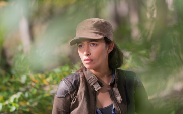 обоя кино фильмы, the walking dead, rosita, espinosa, christian, serratos