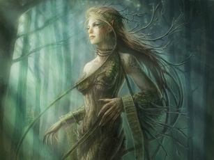 Картинка фэнтези эльфы
