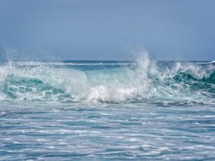 Картинка природа вода napili bay maui hawaii мауи гавайи океан волна
