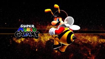 Картинка видео+игры super+mario+galaxy mario