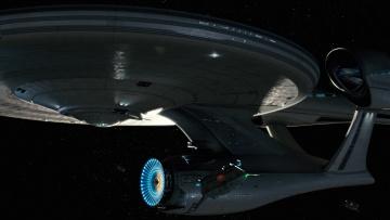 Картинка видео+игры star+trek+online космический корабль полет вселенная