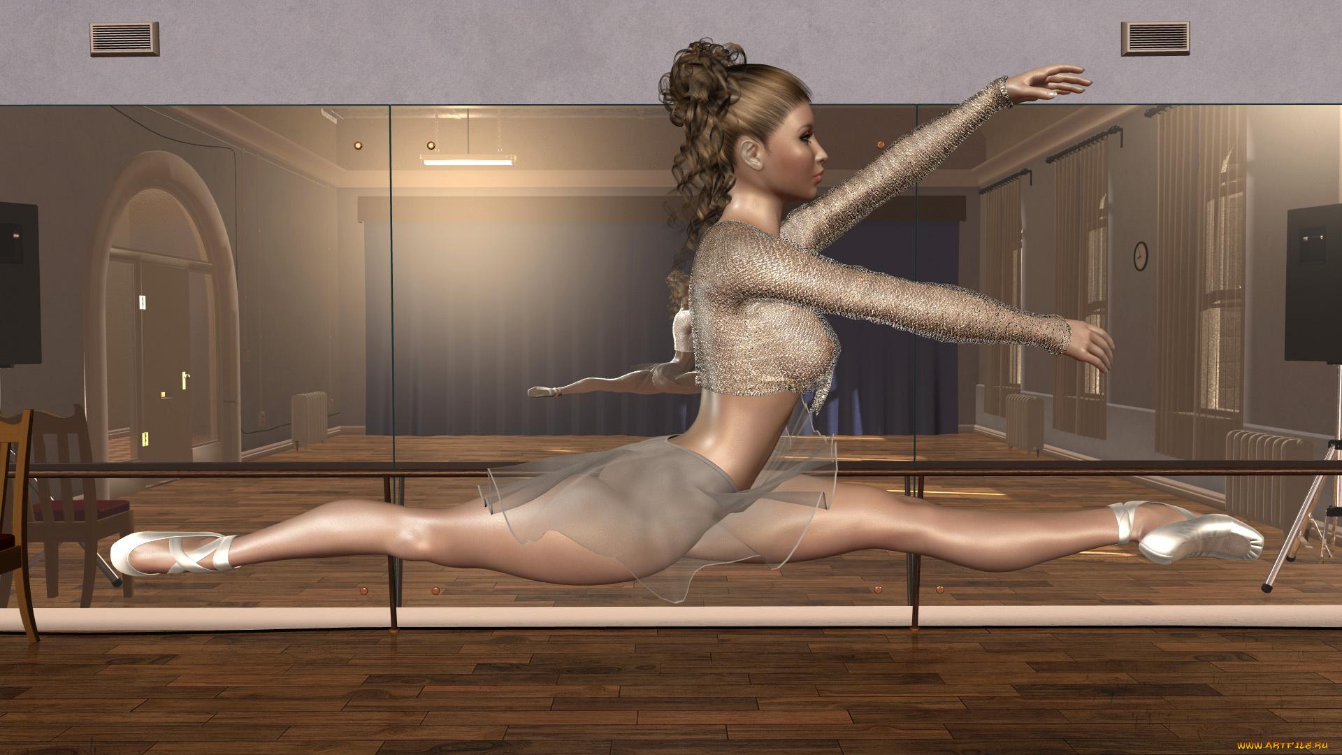 балерины с голыми попами популярное