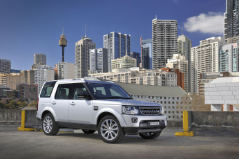 Картинка автомобили land-rover 2014г серый au-spec xxv special edition discovery land rover