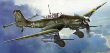 Картинка авиация 3д рисованые v-graphic воздух