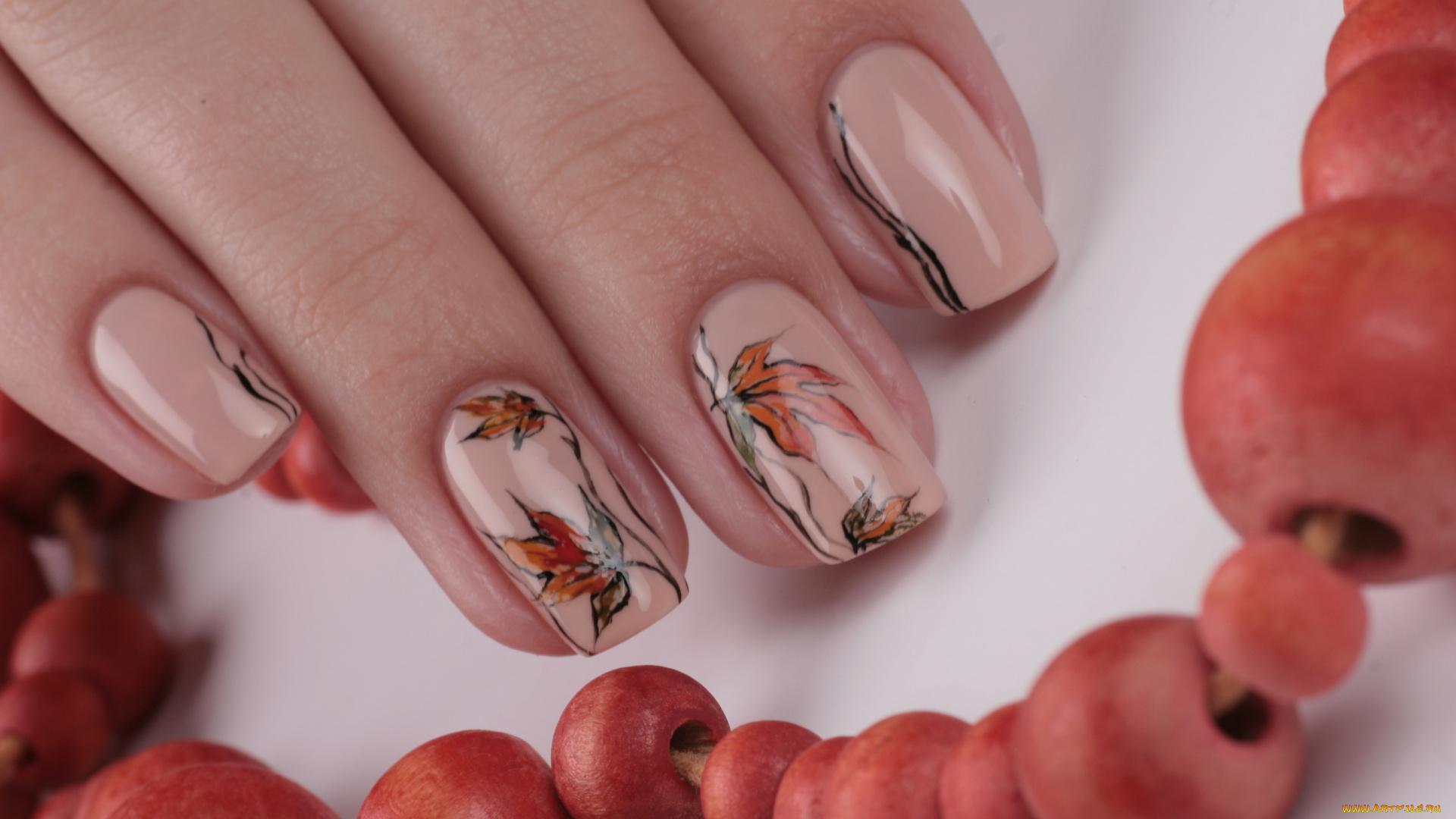 Модные дизайны ногтей осень 2018 фото