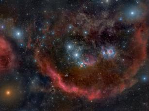Картинка созвездие ориона космос звезды созвездия
