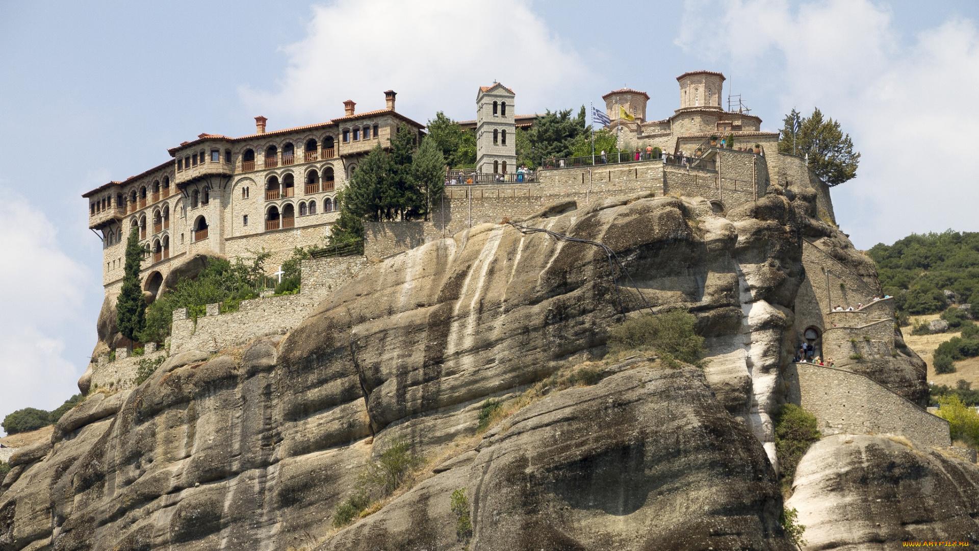 Varlaam Monastery, Meteora, Greece без смс
