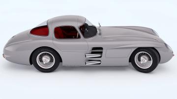 Картинка автомобили 3д mercedes 1955