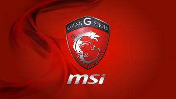 Картинка бренды msi фон логотип