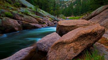 Картинка природа реки озера вода поток