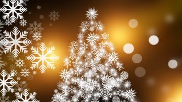 Картинка праздничные векторная+графика+ новый+год открытка снежинки