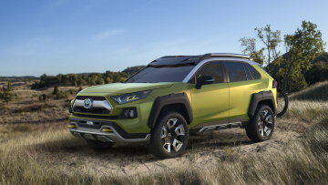 обоя future toyota adventure concept 2017, автомобили, toyota, future, adventure, concept, 2017