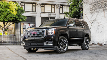 обоя gmc yukon denali ultimate black edition 2018, автомобили, gm-gmc, 2018, denali, yukon, gmc, edition, black, ultimate