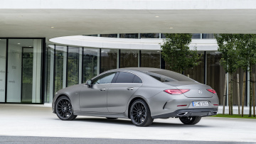 Картинка mercedes-benz+cls+edition-1+2019 автомобили mercedes-benz 2019 edition-1 cls
