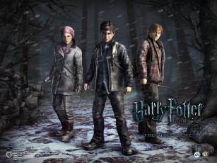 Картинка harry potter and the deathly hallows part видео игры