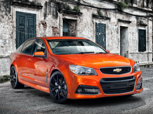 Картинка автомобили chevrolet sport sedan red ss