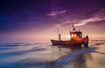 обоя корабли, баржи, свет, солнце, лодка, баржа, балтийское, море