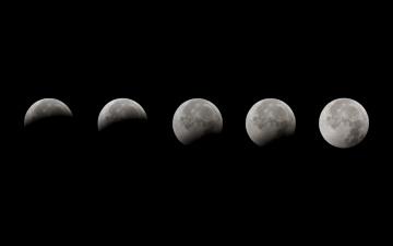 обоя космос, луна, зон