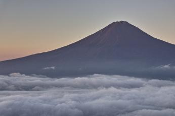 Картинка природа горы небо гора takaten облака