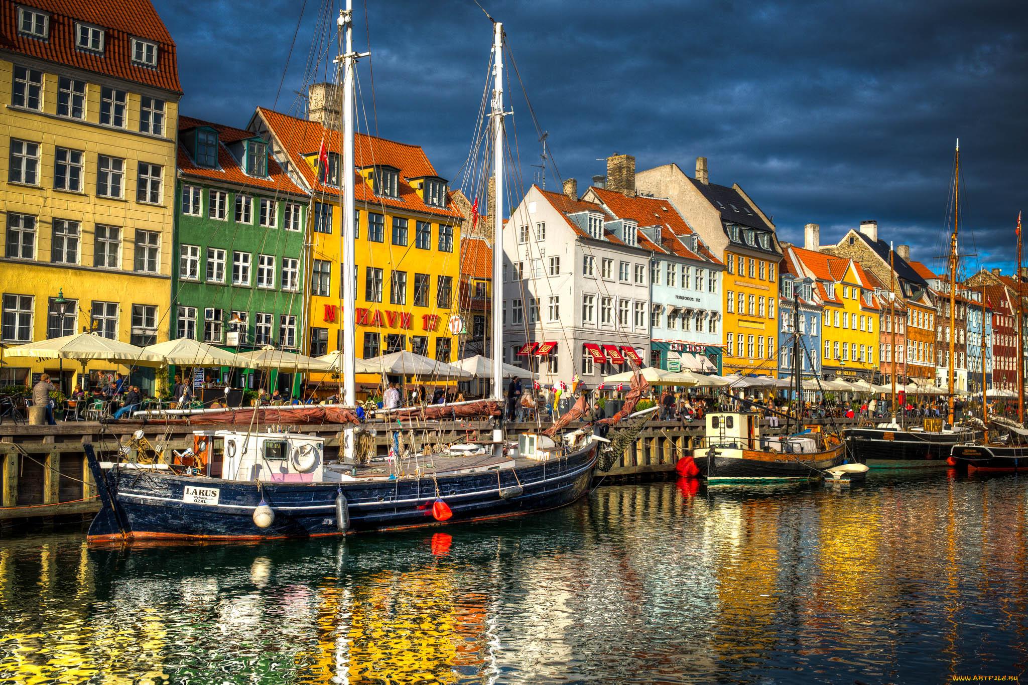 Copenhagen Harbor, Denmark загрузить
