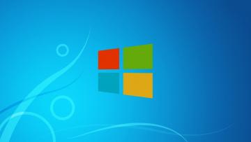 Картинка компьютеры windows+8 операционная система фон логотип