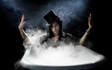 Картинка мужчины -+unsort шляпа тату руки ванна пар взгляд парень