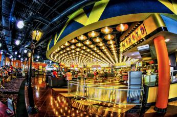обоя интерьер, казино, торгово, развлекательные, центры, hdr