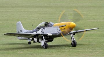 Картинка p-51d+mustang авиация боевые+самолёты истребитель