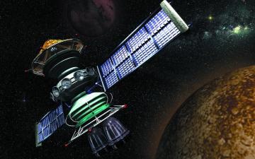 Картинка космос космические корабли станции