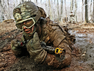 Картинка оружие армия спецназ хризантемы шиповник корзина тыквы soldiers army