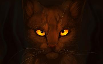 Картинка рисованные животные коты кот усы