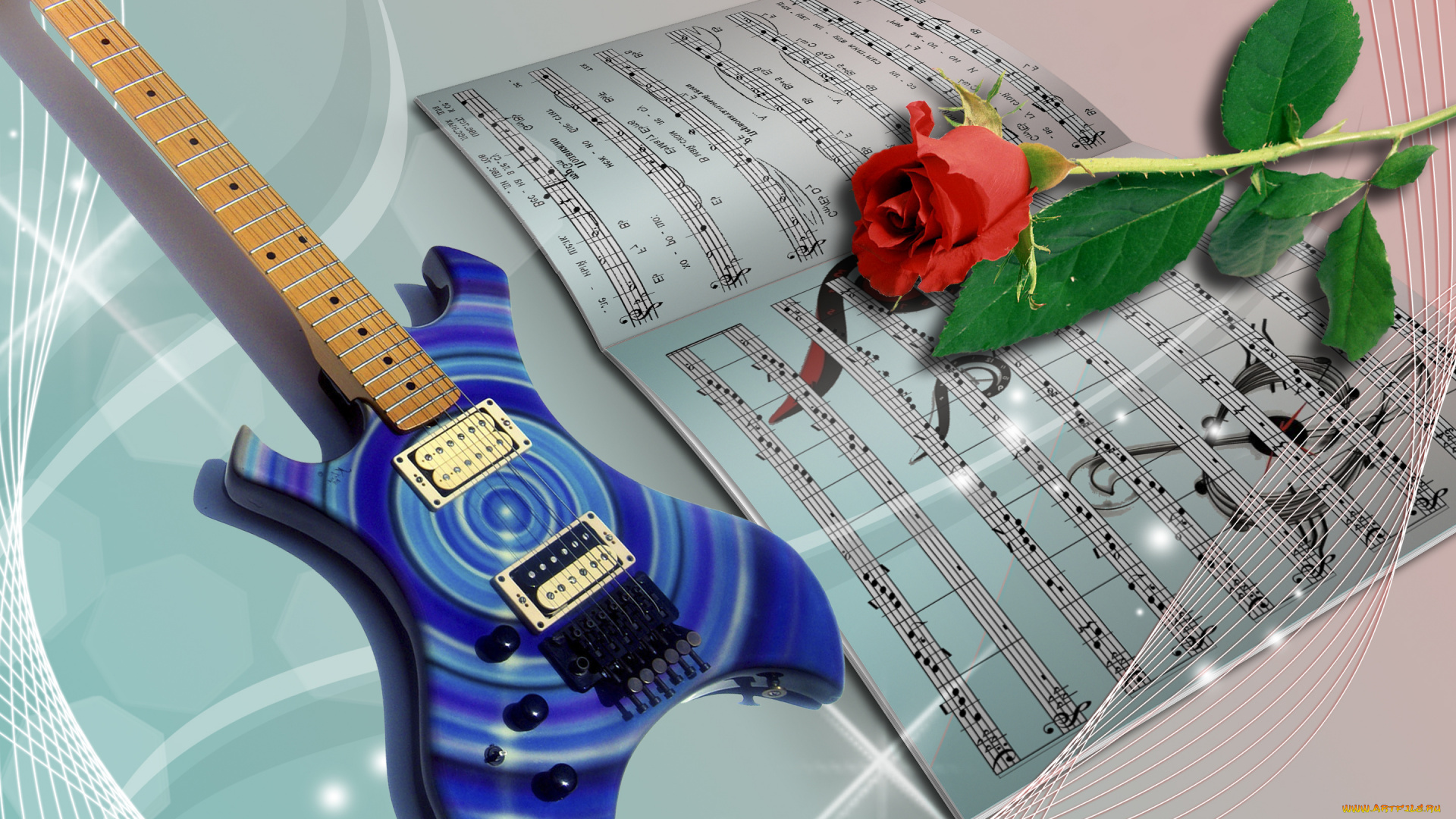 Коды к музыкальным открыткам
