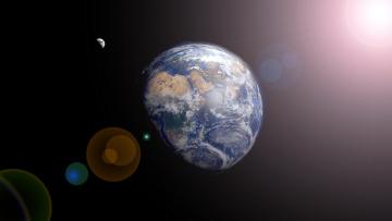 обоя космос, земля, вселенная