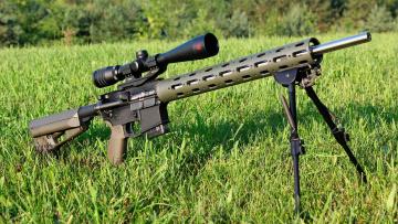 обоя оружие, снайперская винтовка, ar-15, varmint, rifle