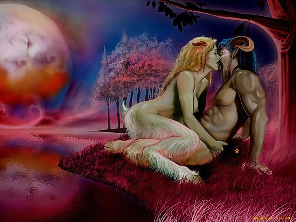 секс с неизвестными существами