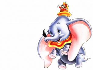 обоя мультфильмы, dumbo