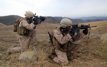 Картинка оружие армия спецназ united states marine corps солдаты