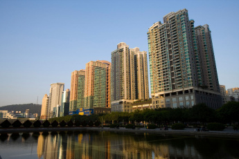 Картинка города панорамы китай гуанчжоу guangzhou china