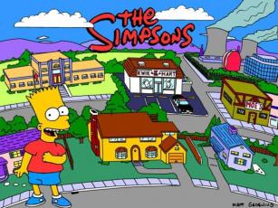 обоя мультфильмы, the, simpsons