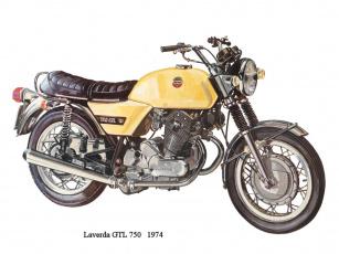 обоя laverda, gtl, мотоциклы, рисованные