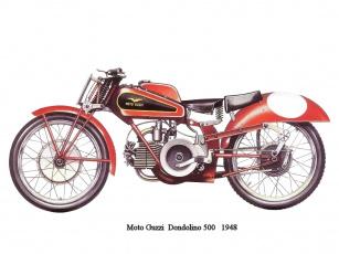обоя moto, guzzi, dondolino, 500, мотоциклы