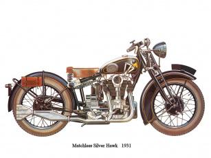 обоя мотоциклы, рисованные