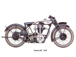 обоя norton, 500, мотоциклы, рисованные