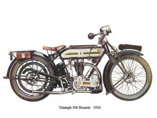 обоя tryumph, 500, мотоциклы, triumph