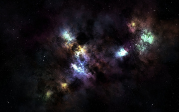 Картинка космос галактики туманности звезды бесконечность созвездие nebula пространство туманность