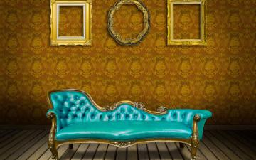 обоя интерьер, мебель, interior, обои, frame, sofa, vintage, luxury, роскошь, кожа, банкетка, диван