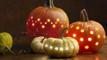 Картинка праздничные хэллоуин тыквы halloween хеллоуин свет праздник